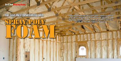 Spray Foam Insulation Inspections